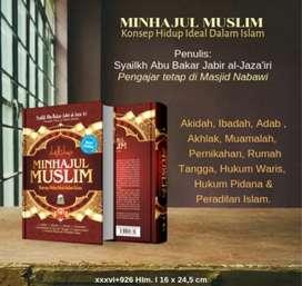 Buku Minhajul muslim jual harga modal rugi sedikit