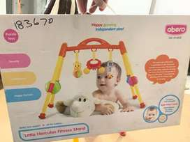 Almost new baby play gym