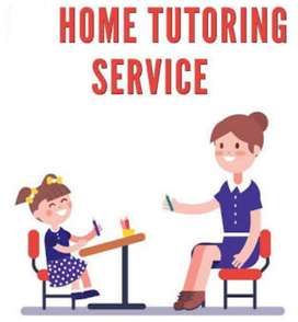 Home tutoring for students of class 1 to 10 and PUC(P,C,M)