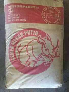Semen Merah Putih 50 KG Baru, Original, Berkualitas