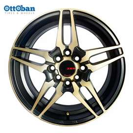 Jual velg replika ring 15 pcd 4x100 114.3 avanza jazz