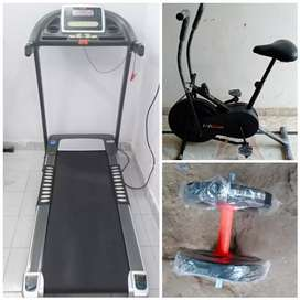 Treadmill hi treadmill /exercise cycles /dumbbells