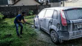 Need a car washer cum driver for mobile car wash service unit