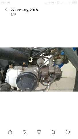 motor supra bekas