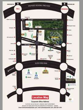70 acres new venture launched Rs.9500 per sqyds