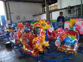 pabrik resmi odong odong kereta panggung mini coaster