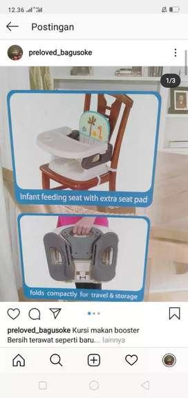 Kursi makan bayi pliko lengkap dus seperti baru