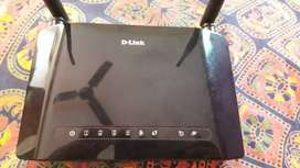 D link modem & a landline for sell!!