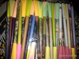 Paper seed pen