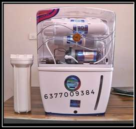 RO+UF+CARBON+TDS CONTROL 15 l tank 1 year warranty tv ac bhk fridge