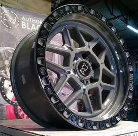 Original Top Brand USA Velg R20 Black Rhino Kelso Pcd 6x139