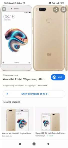 Mi A1 4 GB ram 64gb rom for sale