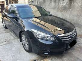 Honda Accord 2011 facelift hitam