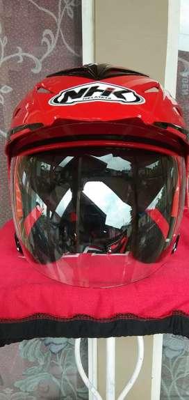 Djual helm NHK Dobel Visor