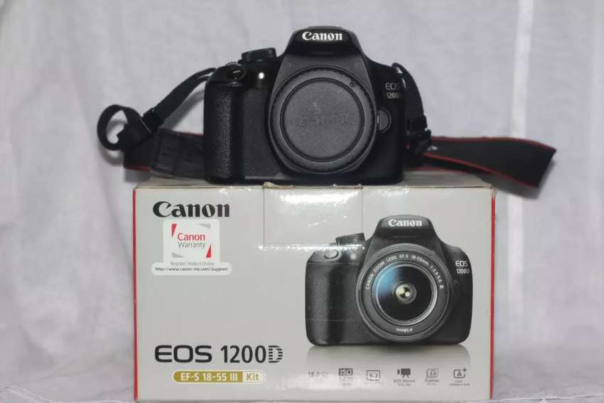 Canon 1200D with 75-300 lens for rent 0