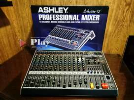 Mixer ashley selection 12ch sound system 12 channel