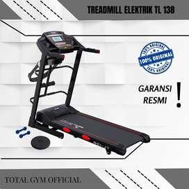 Alat olahraga Fitness TREADMILL ELEKTRIK 2 HP TL 138 FITUR PEREDAM HEN