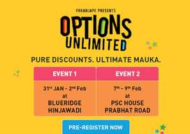 #18 Lakh Discount, Shops and Office OPTIONS UNLIMITED by Paranjape