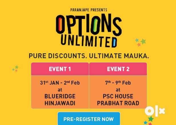 #18 Lakh Discount, Shops and Office OPTIONS UNLIMITED by Paranjape 0