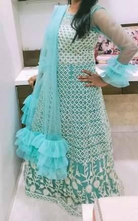 Indo Western designer gown only once used