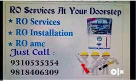 RO water purifier repair service installation