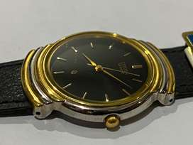 STUNNING 1980's CITIZEN SLIM GENTS WATCH L,NEW OLD STOCK