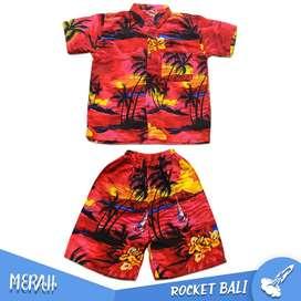 Set Baju Pantai Anak - Baju Anak Khas Bali - Baju Pantai Anak Best