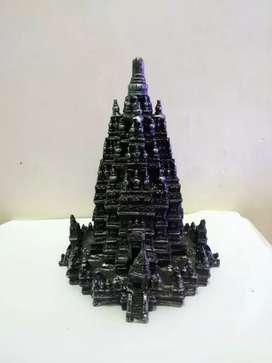 Miniatur candi Prambanan 20cm