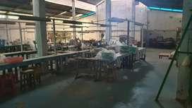 Jual murah pabrik/ gudang Lt 5800 di ungaran