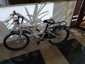 1 month old bicycle for sale in complete new condition
