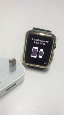 Iwatch series 1 hitam 42mm