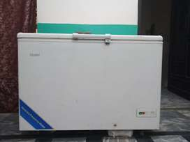 Haier freezer full size in good condition.