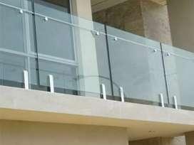 Sartika stel $5269 balkon dan reling tangga setanles kaca