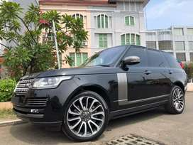 Range Rover Vogue 5.0 Autobiograph 2014 Black Km50rb Seat2+2 Full Spek