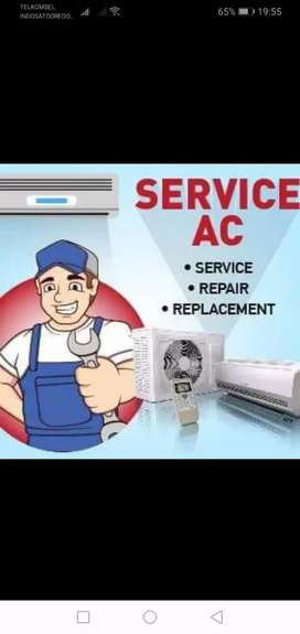 Service ac bergaransi dan terpercaya