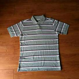Uniqlo polo shirt grey original terbaik