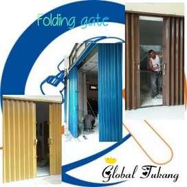 Layanan pemasangan folding gate terbaik bisa service
