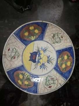 Pajangan piring imari antik murah 45cm