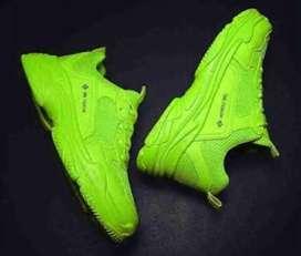 Man's new stylish shoes