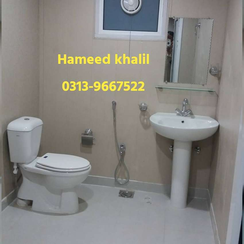 bullet proof cabin prefab homes site office availble for sale Lahore 0