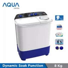 Mesin Cuci 2 Tabung AQUA QW850XT- 9 kilo