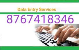 Daily income data typing works ( weekly Payments ) ..