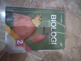 Buku Biologi kelas 11 erlangga