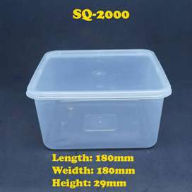 Plastic Box Disposable Dishes