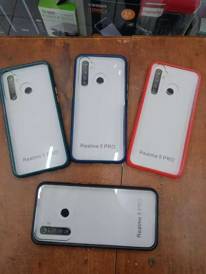 Softcase Fuze Color Realme 5Pro 0