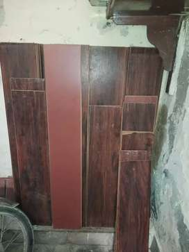 Wooden Flooring used