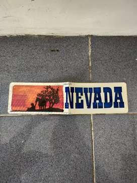 Sticker Mobil Nevada Texas Asli Made in USA