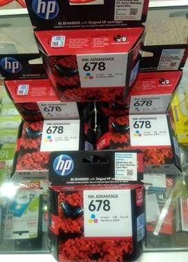 Catridge HP 678 Warna/Color murah new