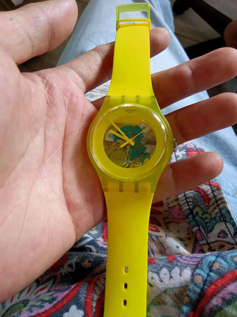 Jam tangan Swatch Swis ori 0