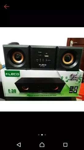 Speaker Bluetooth fleco f30 suara menggelegar bassnya mantan bosku